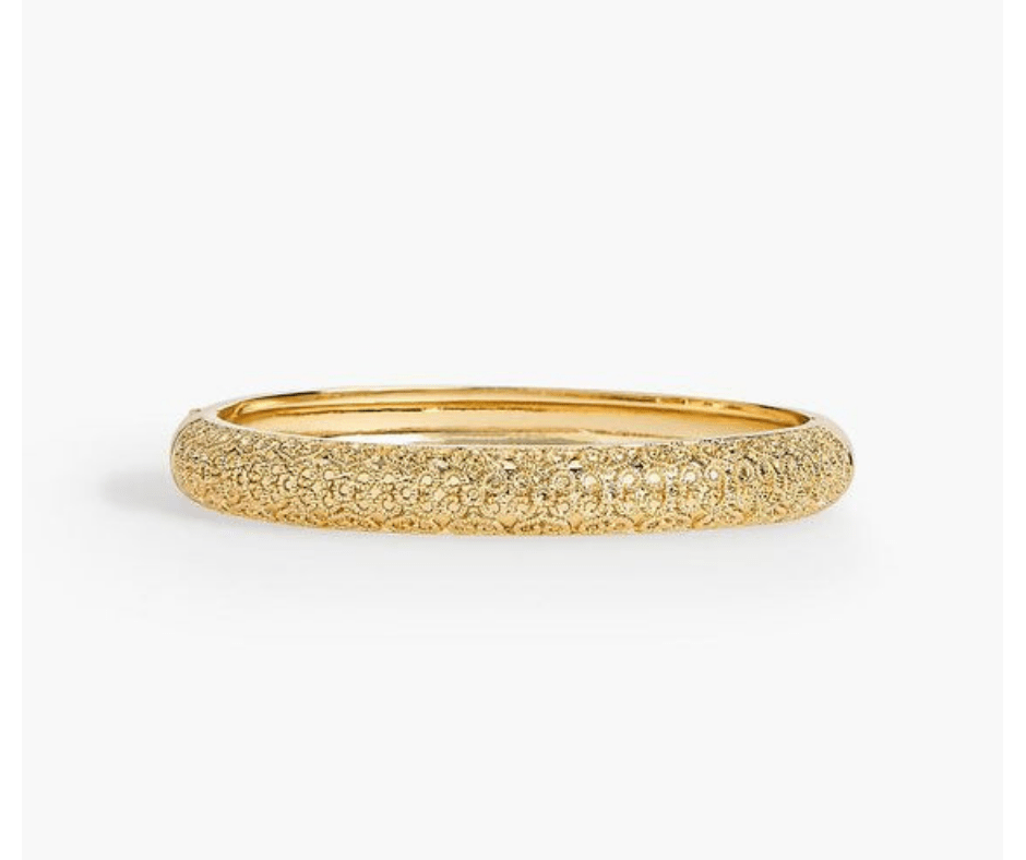 My November 2018 Favorites Gold shimmer Bangle