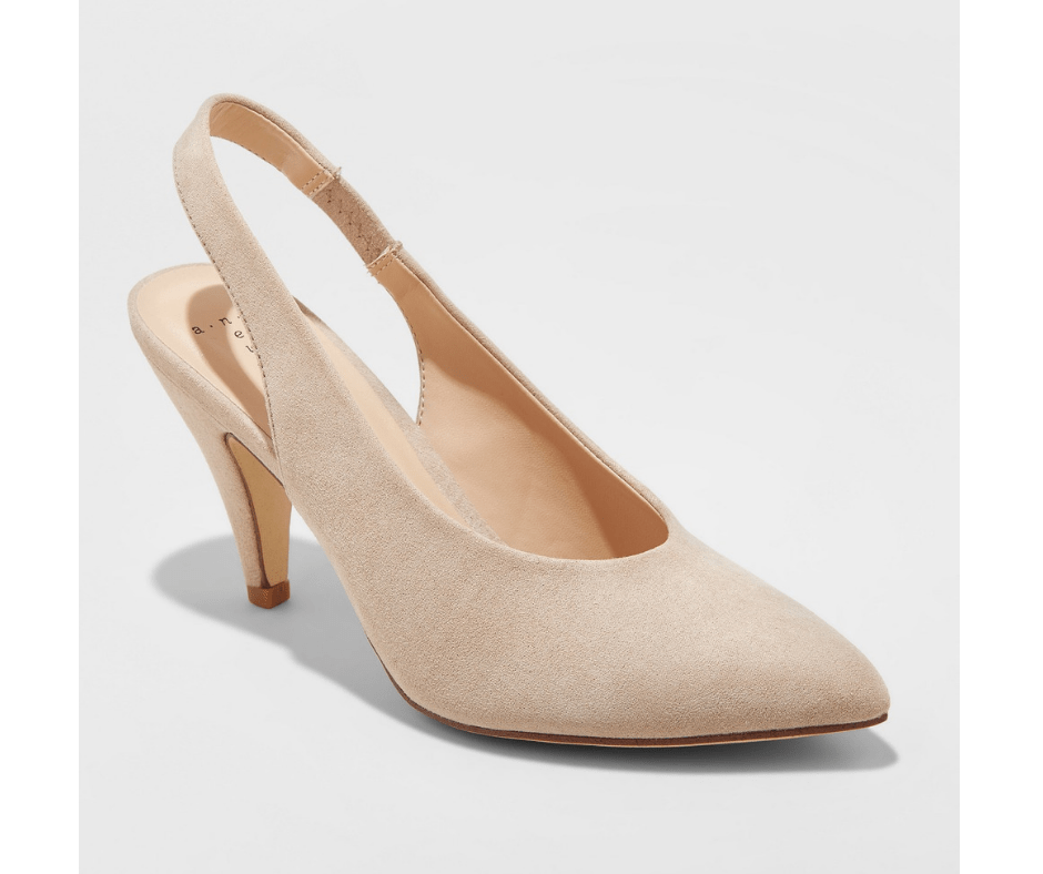 My November 2018 Favorites Nude Suede Slingback Pumps