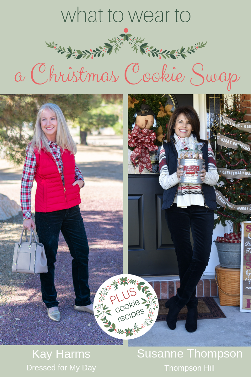 What to Wear to a Christmas Cookie Swap