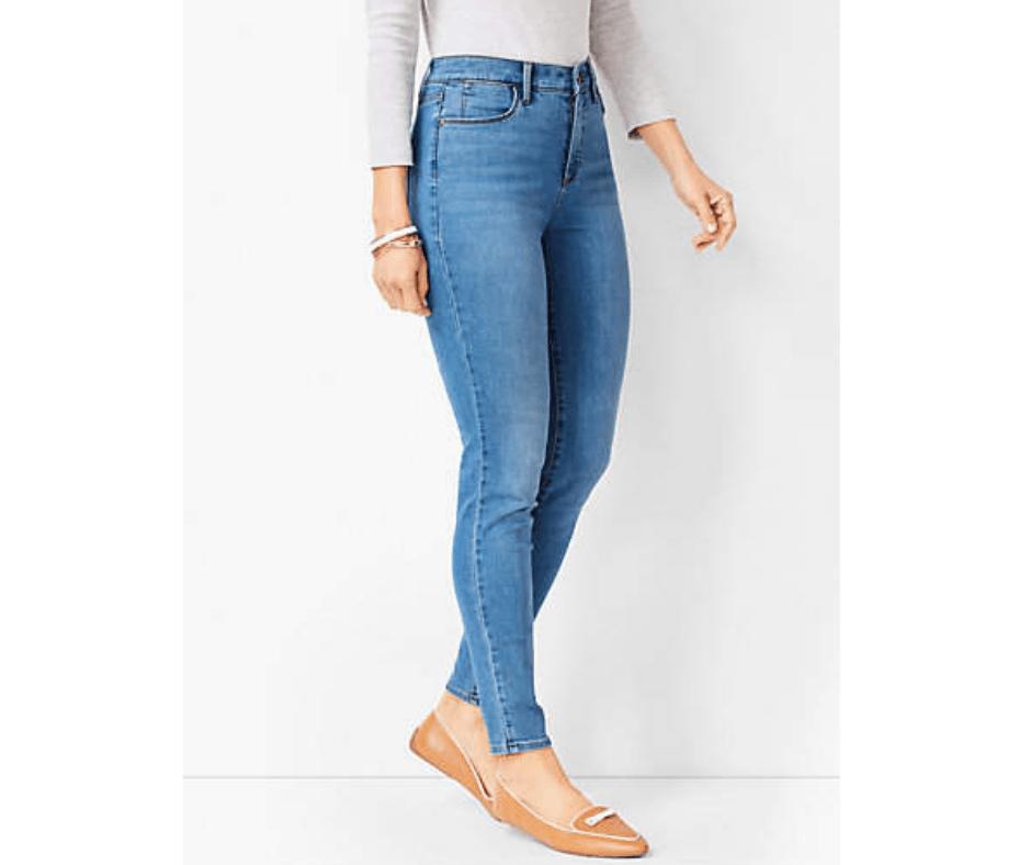 Clothes fit jeans