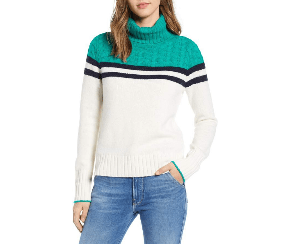 Clothes fit sweater