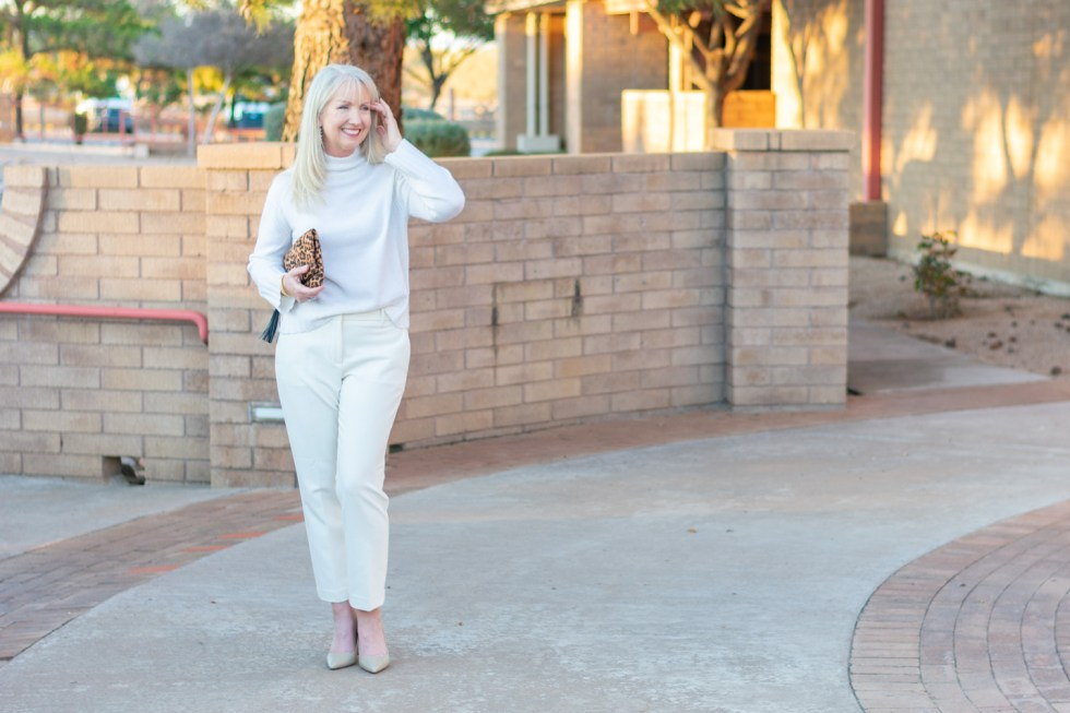 How to Wear All Winter White