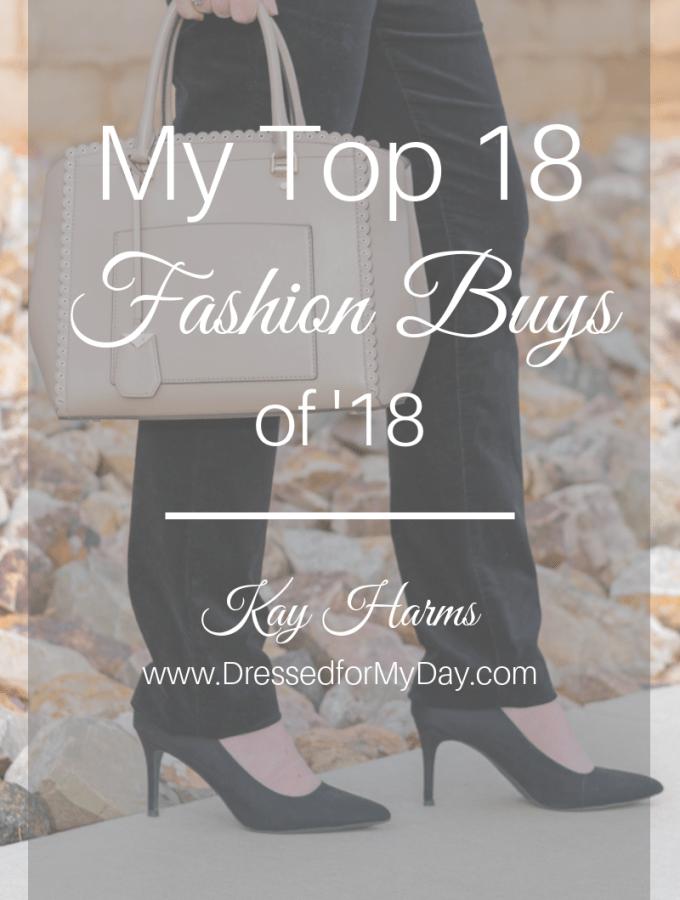 Top 18 Fashion Buys 2018