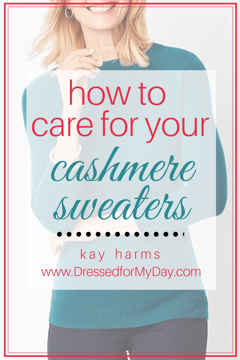 how to care for cashmere sweaters