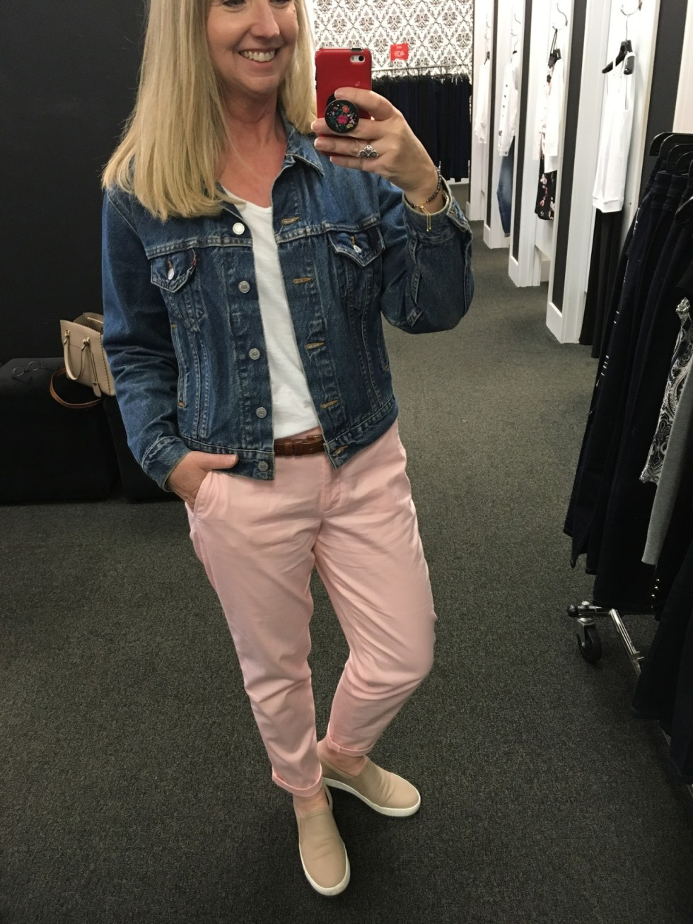 J Crew Factory Transition Try On Session 012