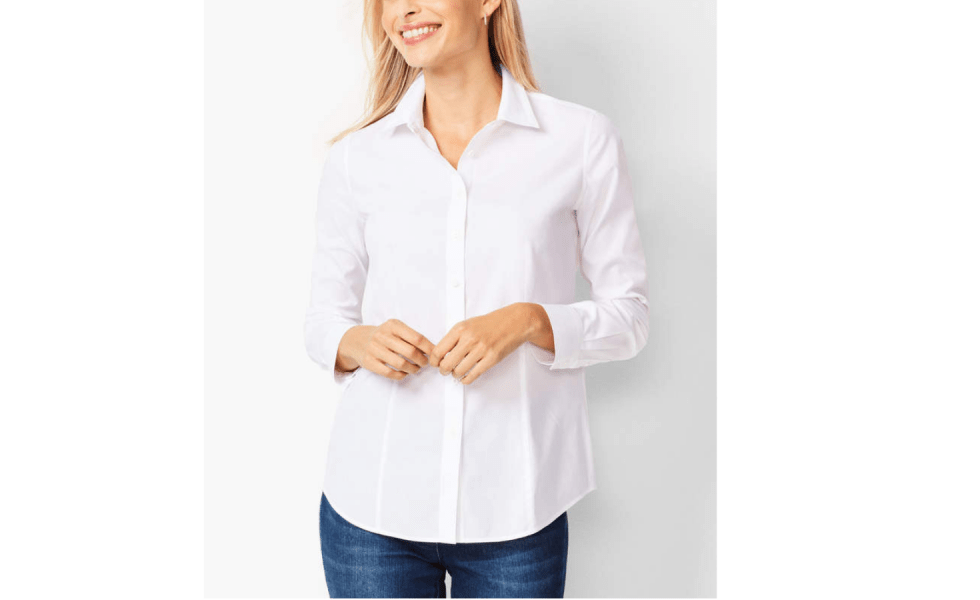 Spring 2019 Wardrobe Essentials classic white shirt