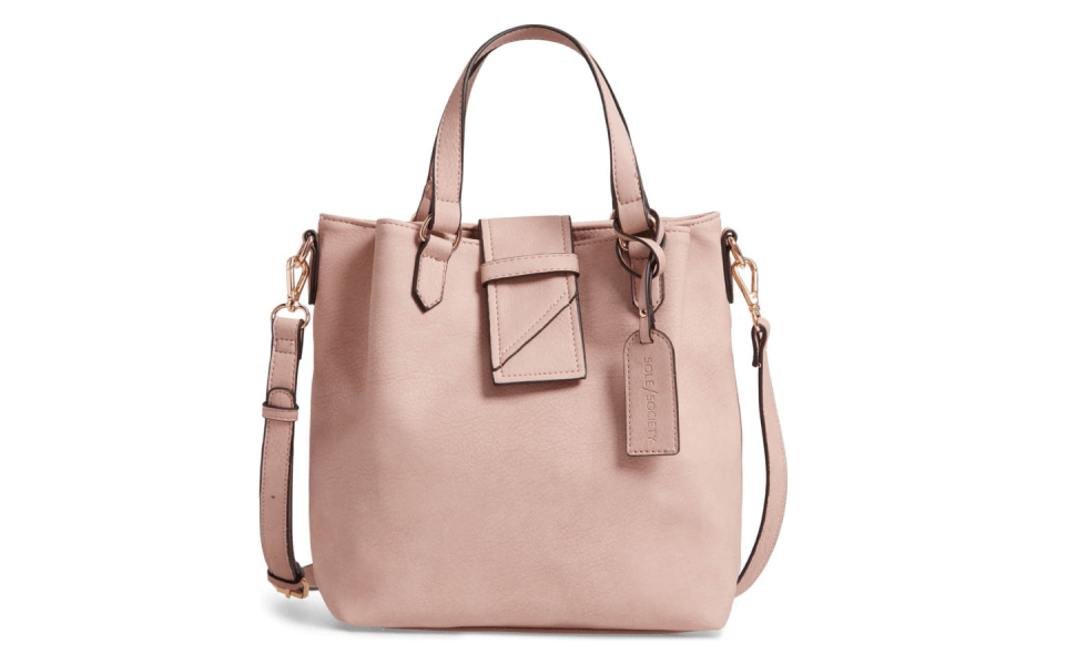 Spring 2019 Wardrobe Essentials neutral handbag