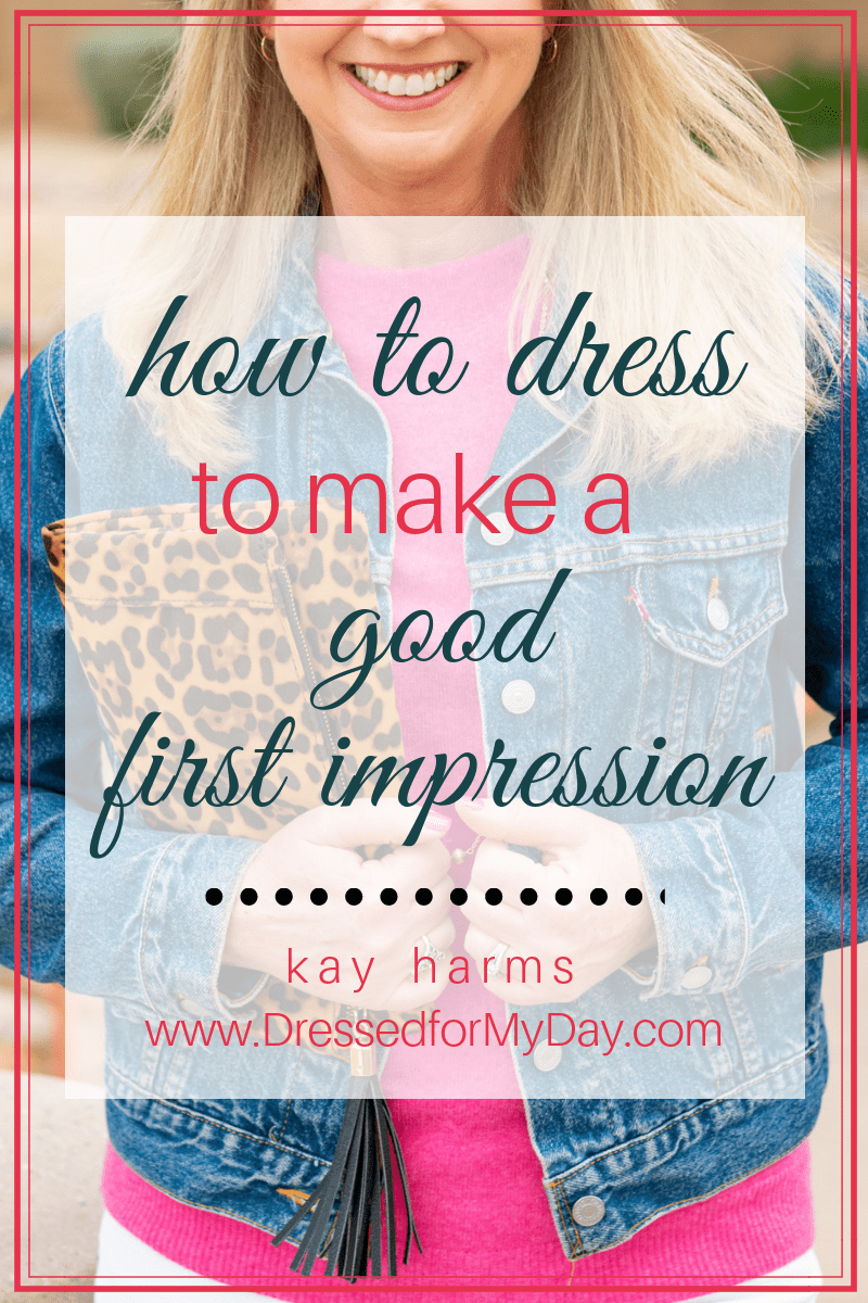 how to dress good first impression