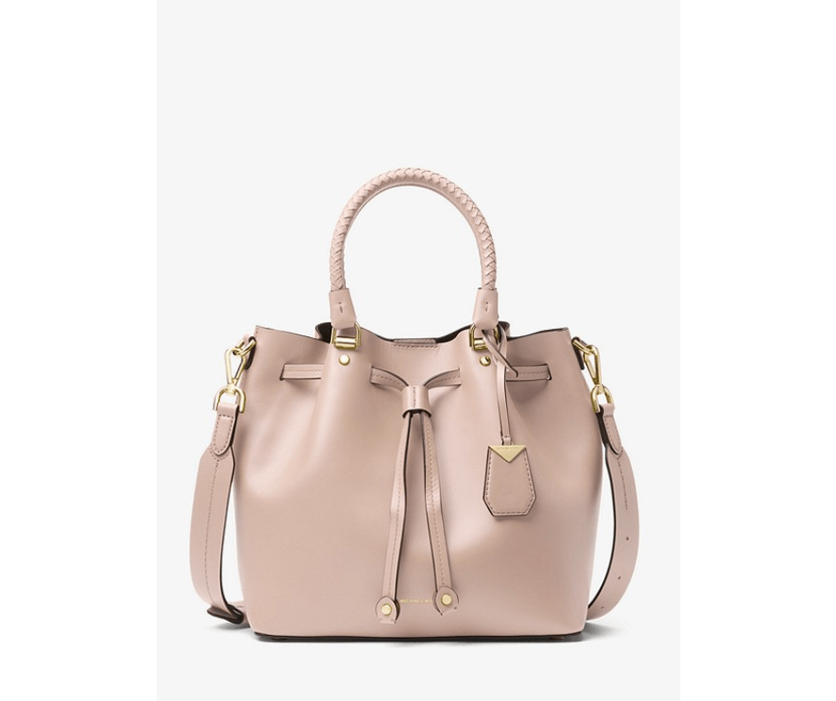 April Favorites - Blakely bucket bag in soft pink (Michael Kors)