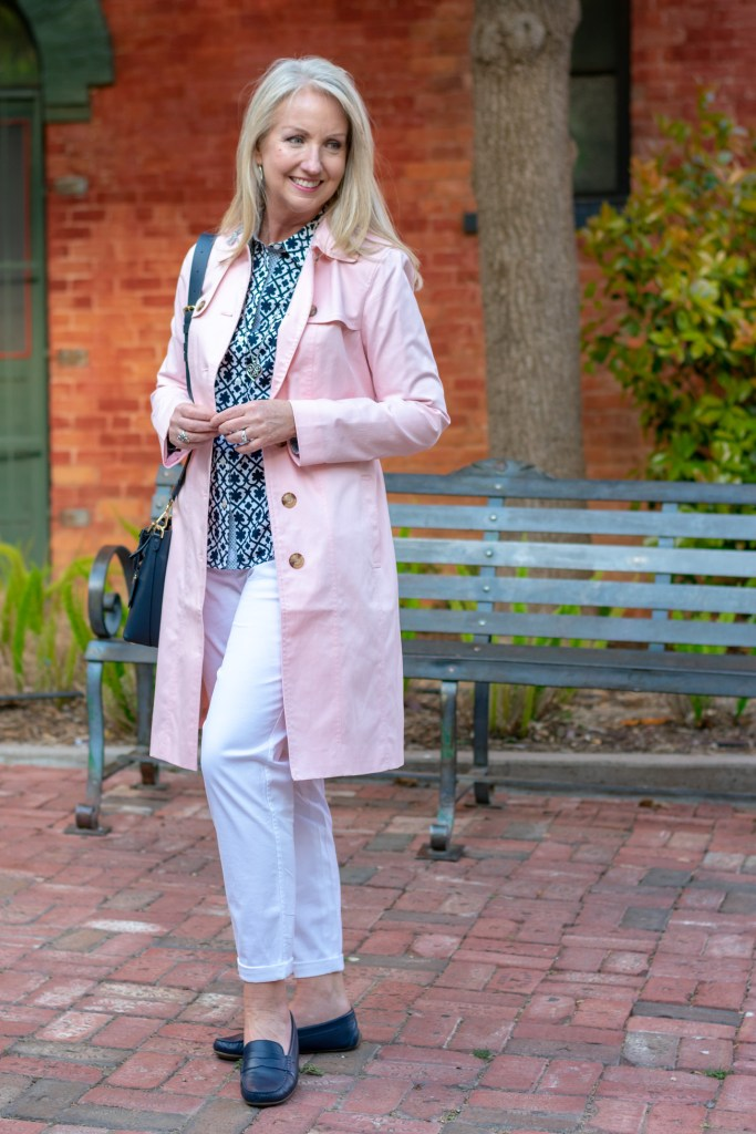 Classic Navy + White Spring Look