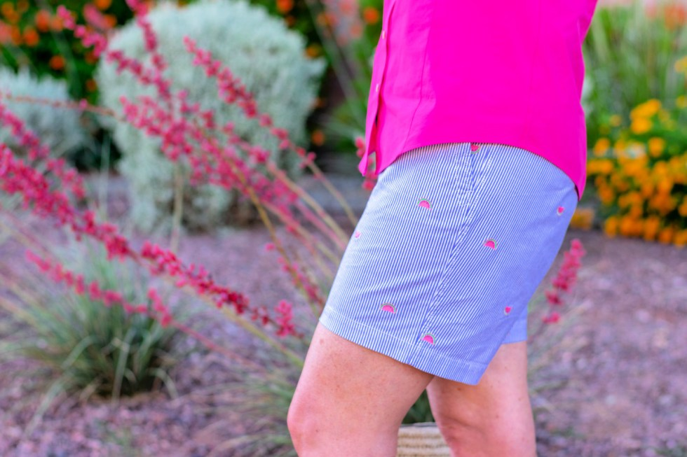 How to Wear Novelty Print Shorts
