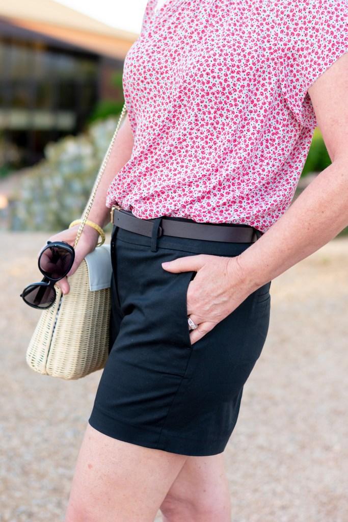 Black Shorts Versatile for Summer