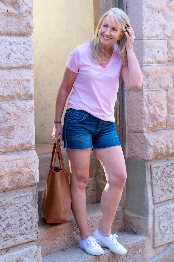 Denim Shorts for Spring and Summer