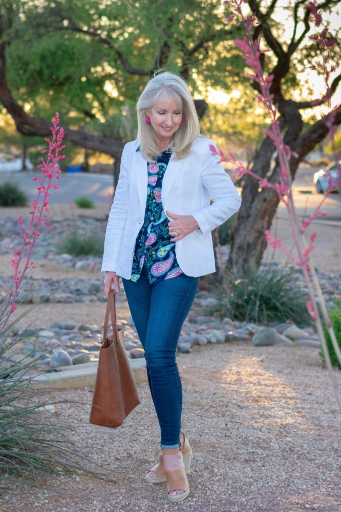 How to Wear a White Blazer this Spring + Summer