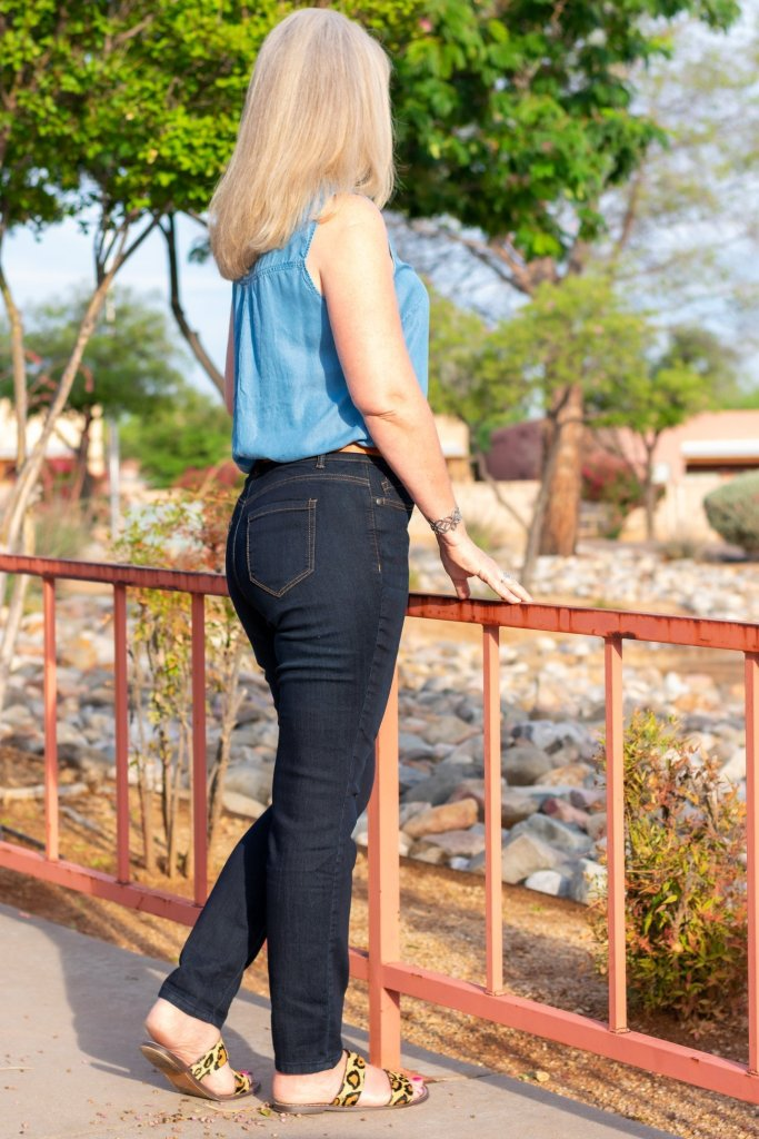 Finding Your Perfect Jeans at Christopher & Banks Shaped Stonewash