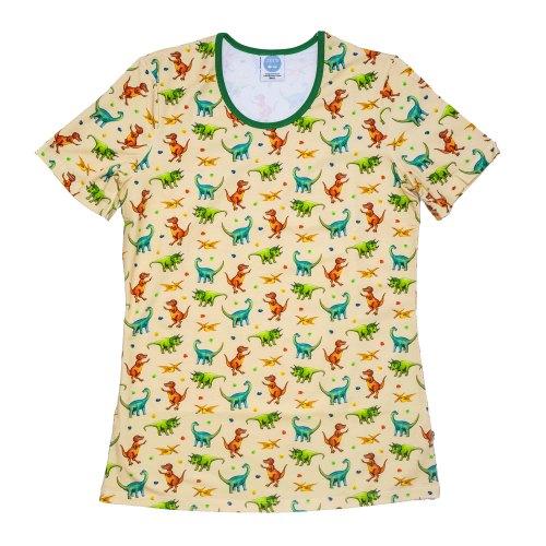 Ladies Cream Dino Tshirt