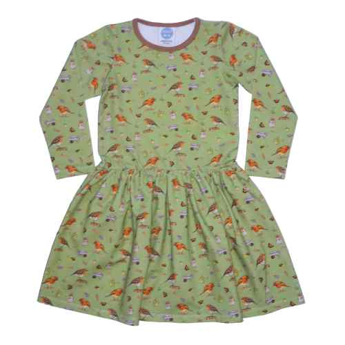 Olive Robin Dress