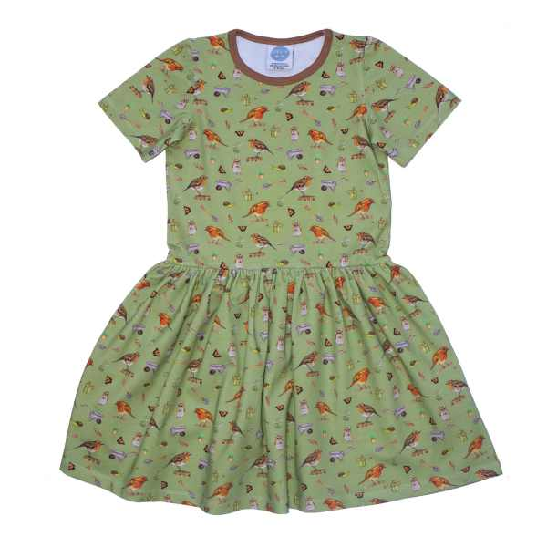 Olive Robin Dress