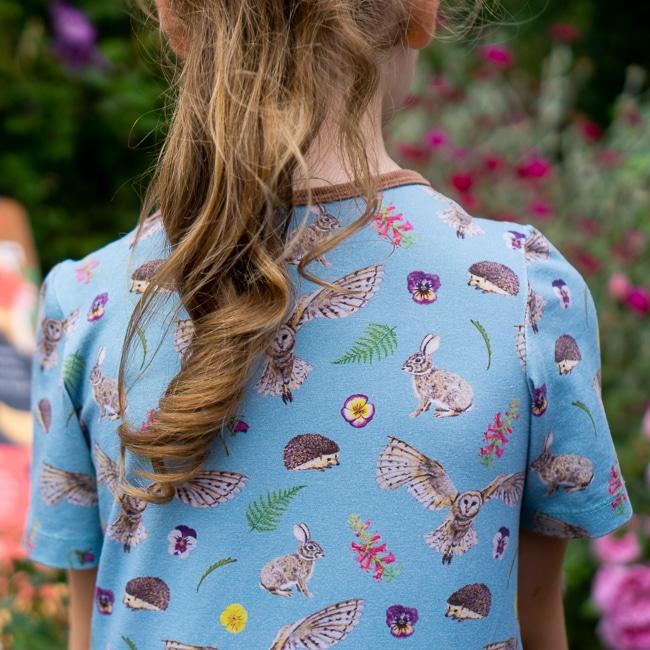 Blue Countryside Dress