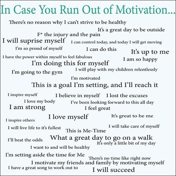 more motivation