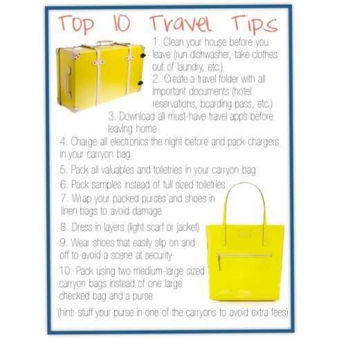 Top 10 Travel Tips (1)