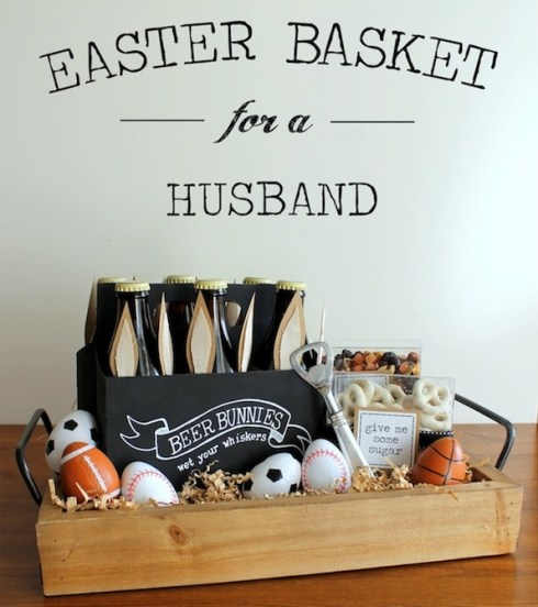 basket for husband