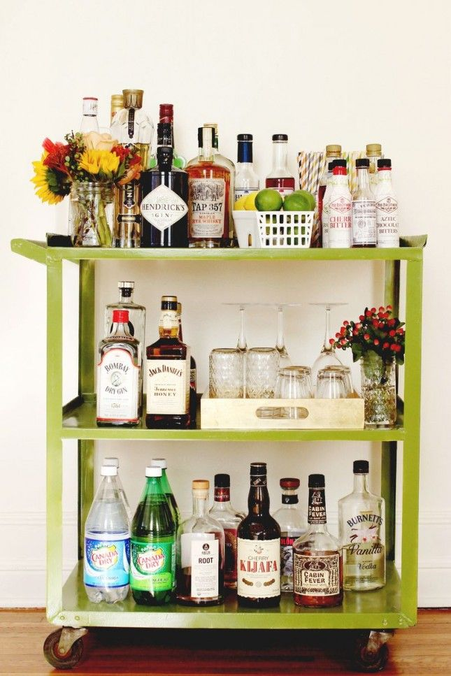 bar cart eye candy