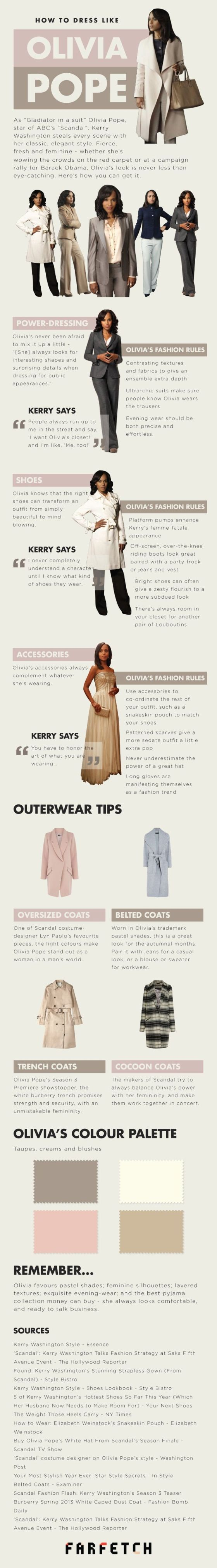 how to dress like olivia pope