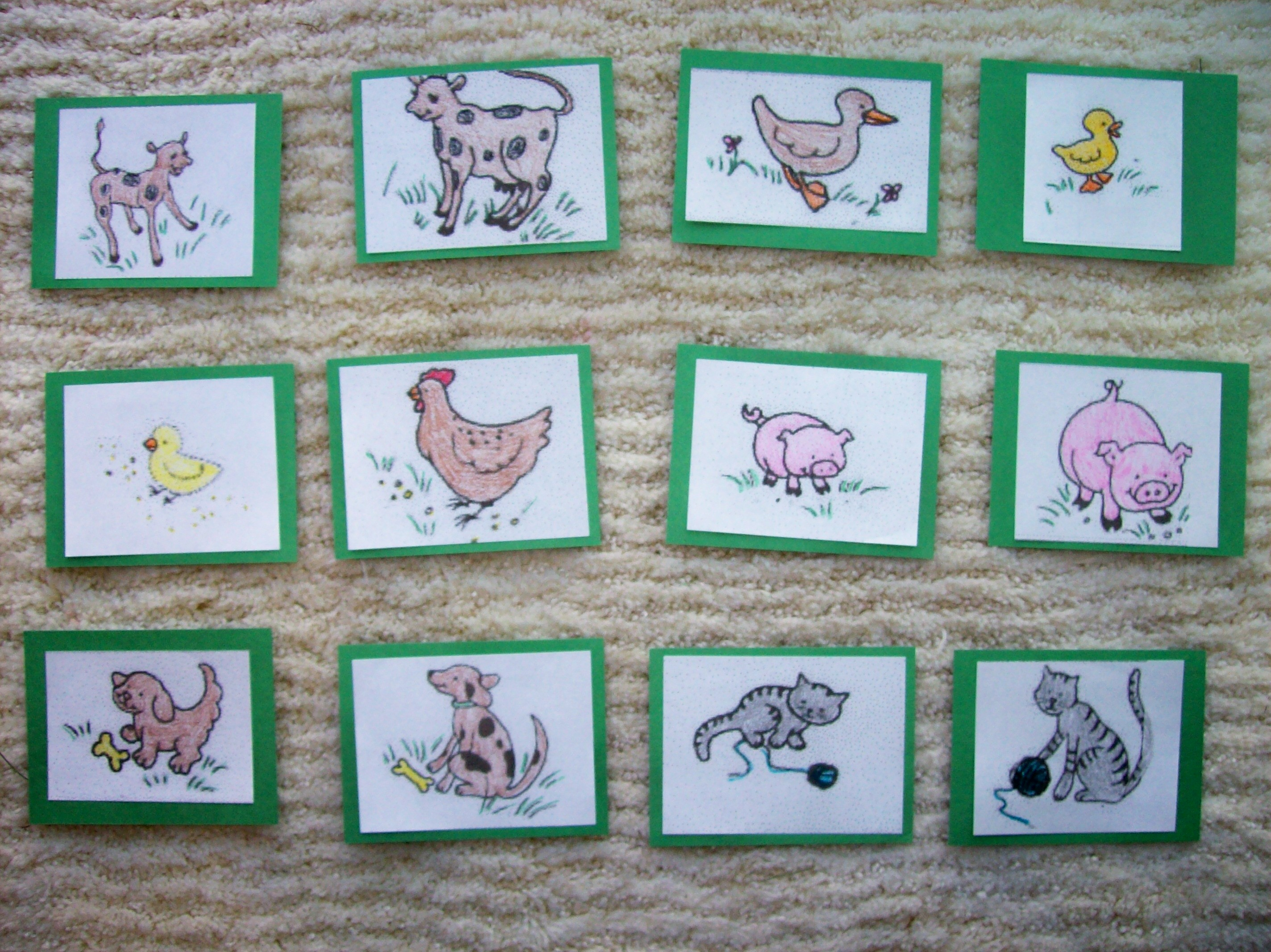 Farm Animal Matching Game