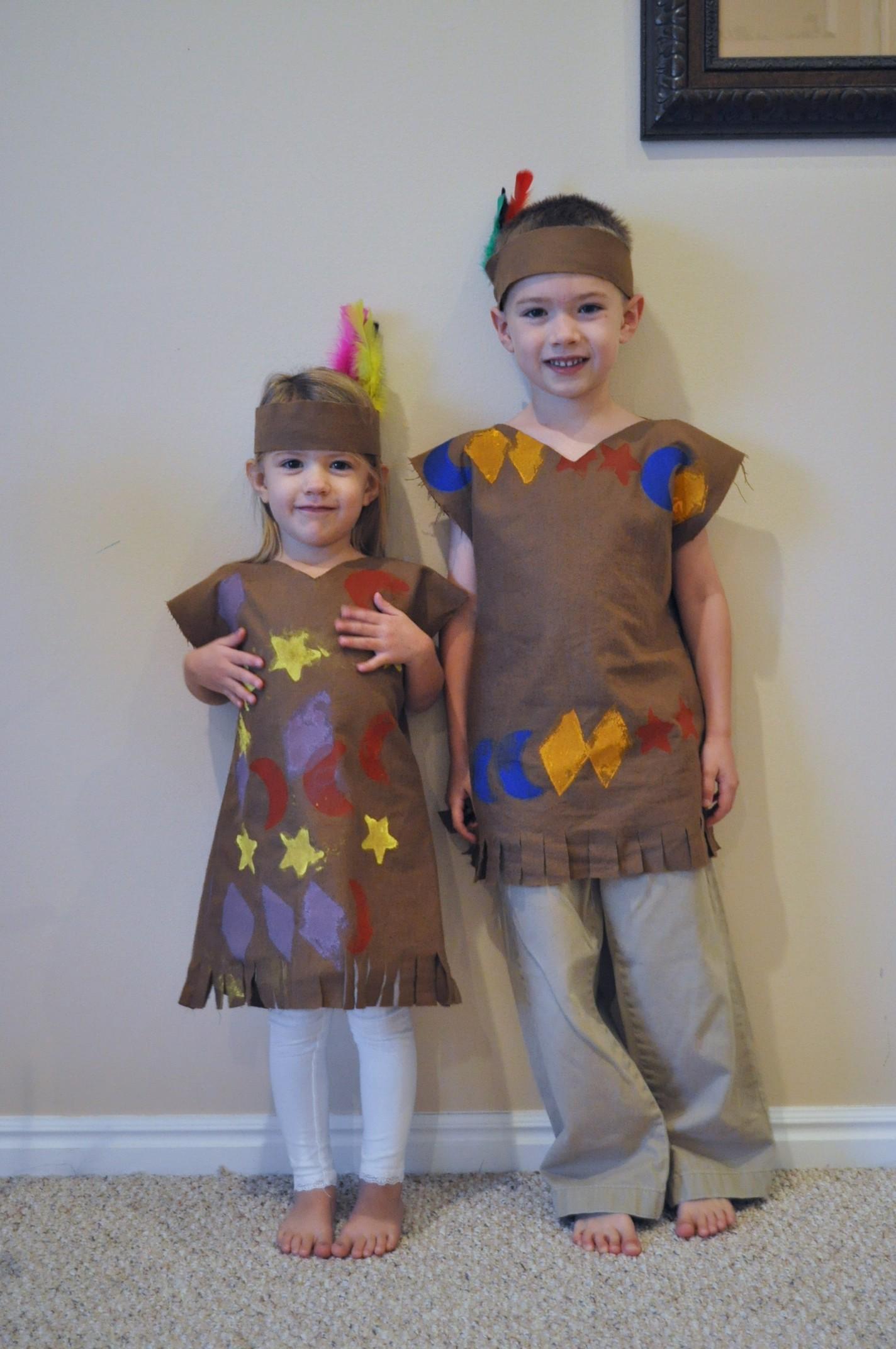 Simple Homemade Native American Costume
