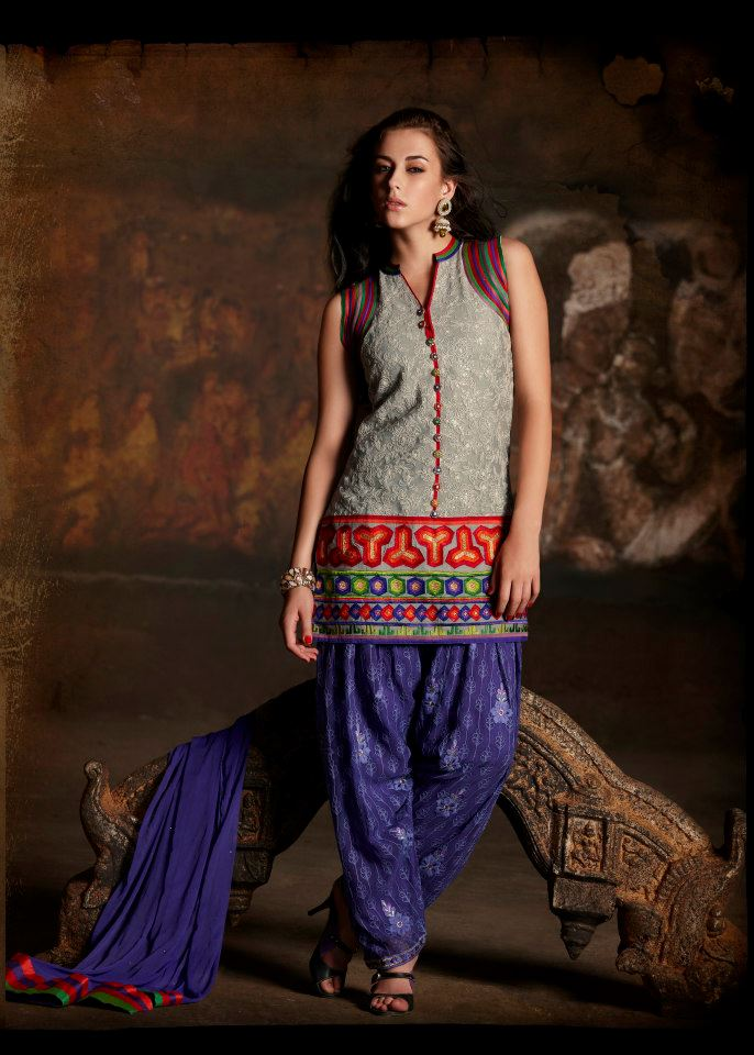 Patiala Salwar 2017 | Latest Patiala Suit with Short ...
