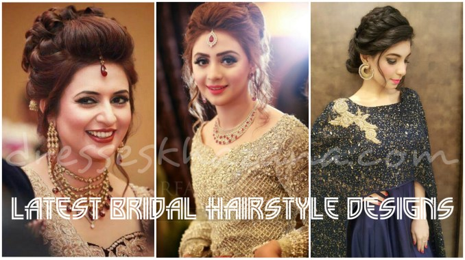wedding hairstyles for brides 2018 | latest bridal