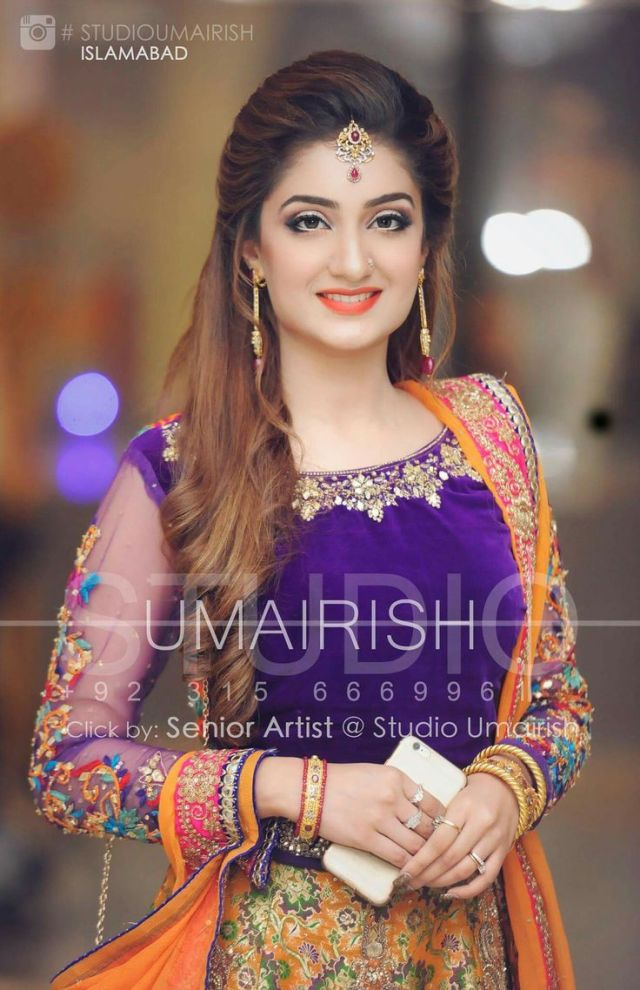 trendy pakistani bridal hairstyles 2018 - new wedding