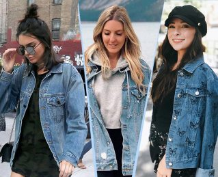 50 denim jacket for women street style ideas