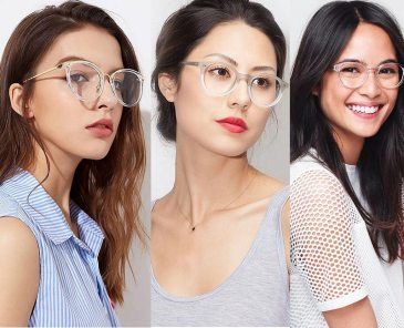 51 Clear Glasses Frame For Women's Fashion Ideas #Transparent #Eyeglass