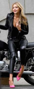 Badass leather clothes for women (005)   fashion
