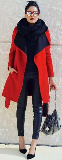 Badass leather clothes for women (007)   fashion