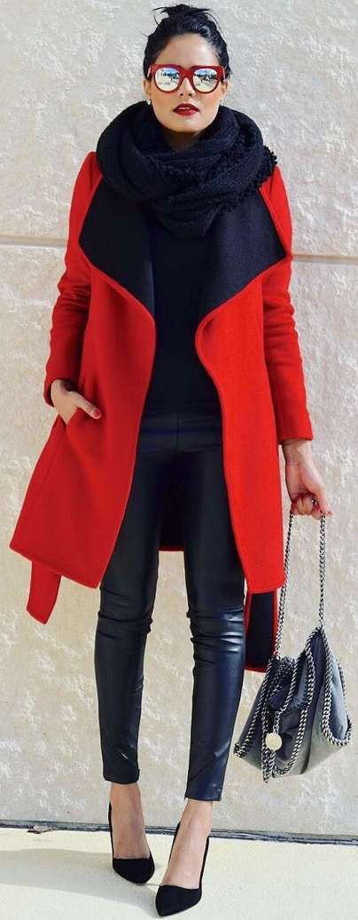 Badass leather clothes for women (007) | fashion