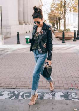 Badass leather clothes for women (018) | fashion