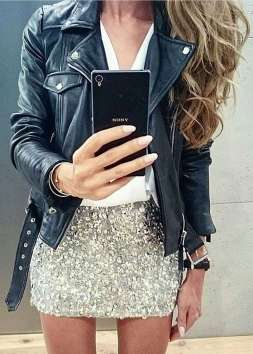 Badass leather clothes for women (025) | fashion