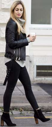 Badass leather clothes for women (026)   fashion