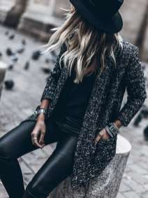 Badass leather clothes for women (028) | fashion
