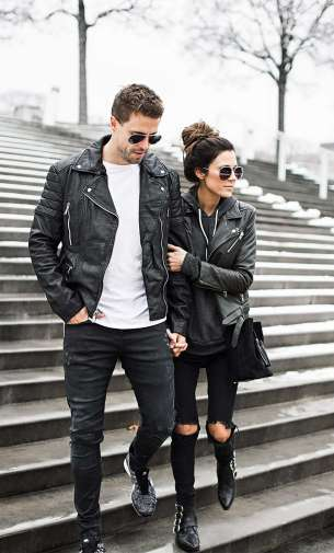 Badass leather clothes for women (030)   fashion