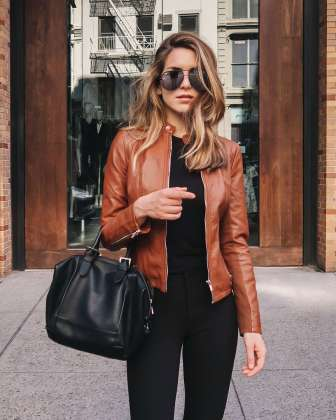 Badass leather clothes for women (034)   fashion