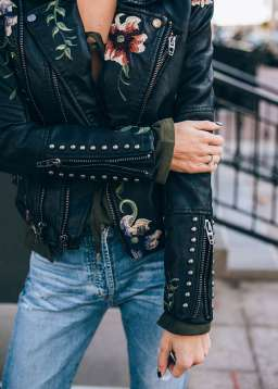 Badass leather clothes for women (035) | fashion