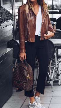 Badass leather clothes for women (041)   fashion