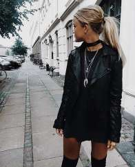 Badass leather clothes for women (043)   fashion
