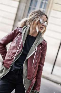 Badass leather clothes for women (054) | fashion