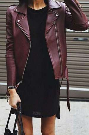 Badass leather clothes for women (079)   fashion