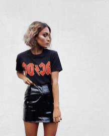 Badass leather clothes for women (084) | fashion